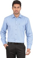 All Times Formal Shirts (Men's) - All Times Men's Solid Formal Blue Shirt