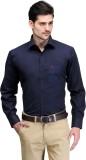 Club Morocco Men's Solid Formal Dark Blu...