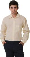 Kwardrobes Formal Shirts (Men's) - Kwardrobes Men's Solid Formal Linen White Shirt