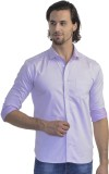 Scotchtree Men's Self Design Casual Pink...
