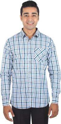 ELIXL INDIA Men's Checkered, Striped Casual Multicolor, Light Green Shirt