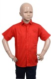 Puppet Nx Boys Solid Casual Red Shirt