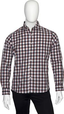 Cotton Natural Men's Striped Casual Multicolor Shirt