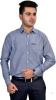 Revine Formal Shirts (Men's) - Revine Men's Solid Formal Grey Shirt