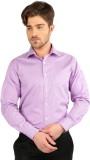 J Hampstead Men's Solid Formal Purple Sh...