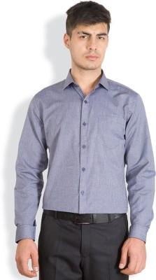 Mark Taylor Men's Solid Formal Maroon Shirt
