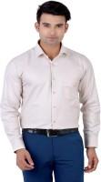 Lamode Formal Shirts (Men's) - LaMode Men's Solid Formal Gold Shirt