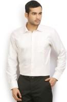 I voc Formal Shirts (Men's) - I-Voc Men's Solid Formal White Shirt