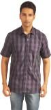 Sterling Men's Checkered Formal Purple S...