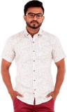 The G Street Men's Printed Casual White ...