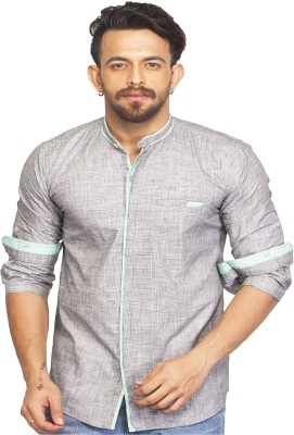 Bombay Casual Jeans Men's Checkered Casual Reversible Black Shirt