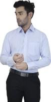 Big Brother Formal Shirts (Men's) - Big Brother Men's Checkered Formal Light Blue Shirt