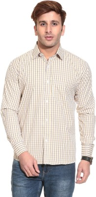 Stylistry Men's Checkered Casual Multicolor Shirt
