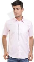 Odin Formal Shirts (Men's) - Odin Men's Solid Formal Pink Shirt