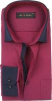 Balkin Formal Shirts (Men's) - BALKIN Men's Self Design Formal Red Shirt