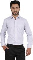 Hippoolife Formal Shirts (Men's) - Hippoolife Men's Checkered Formal White Shirt