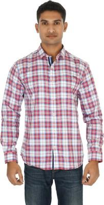 Helios Men's Checkered Casual Multicolor Shirt