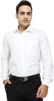 Vkg Formal Shirts (Men's) - VKG Men's Solid Formal White Shirt