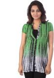 Go4it Women's Printed Casual Green Shirt