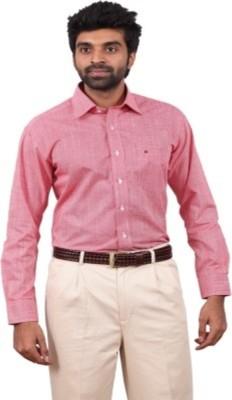 Badstreet Boys Men's Solid Formal Red Shirt
