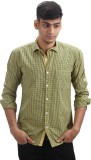 Fashion Bean Men's Checkered Casual Yell...