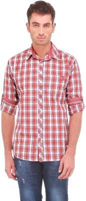 Sleek Line Men's Checkered Casual Multicolor Shirt