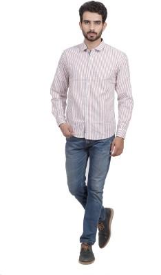 Mild Kleren Men's Striped Casual Multicolor Shirt