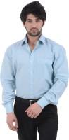 Burdy Formal Shirts (Men's) - Burdy Men's Solid Formal Light Blue Shirt
