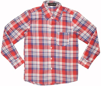 Lovane Baby Boy's Checkered Casual Multicolor Shirt