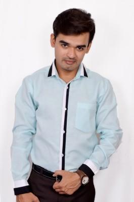 Silvercuffs Men's Self Design Casual Multicolor Shirt