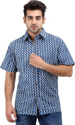 Padmini Negotium Men's Self Design Casual Multicolor Shirt