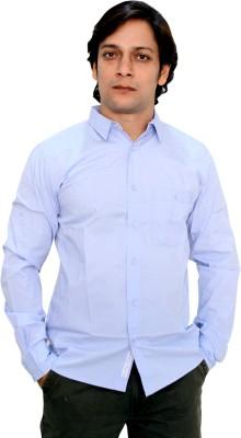 Babas Wear Men's Solid Casual Light Blue, Brown, Blue, Grey Shirt