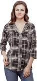 Mask Lifestyle Women's Checkered Casual ...