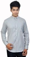 Attrayant Formal Shirts (Men's) - Attrayant Men's Solid Formal Grey Shirt