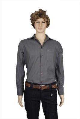 Eco-Solar Garments Men,s Solid Casual Grey Shirt