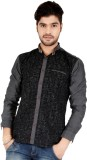 Appollo Men's Printed Casual Black Shirt