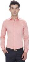 Idealism Formal Shirts (Men's) - Idealism Men's Solid Formal Orange Shirt
