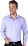 Magson Ace Men's Solid Formal Blue Shirt