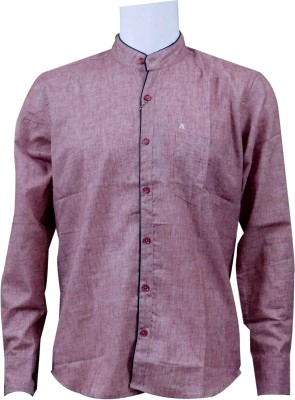Ardeur Men's Solid Casual, Festive, Party Red Shirt
