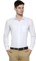 Being Fab Formal Shirts (Men's) - Being Fab Men's Solid Formal White Shirt