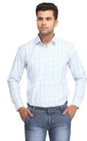 Orizzonti Formal Shirts (Men's) - Orizzonti Men's Checkered Formal Multicolor Shirt