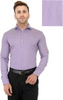 Being Fab Formal Shirts (Men's) - Being Fab Men's Solid Formal Purple Shirt