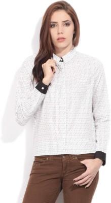 Arrow Women's Casual White Shirt