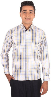 Henry Spark Men's Solid Casual White Shirt