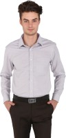 Flags Formal Shirts (Men's) - Flags Men's Woven Formal Grey Shirt