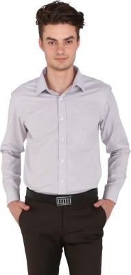 Flags Men's Woven Formal Grey Shirt