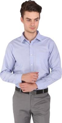 Flags Men's Woven Formal Light Blue Shirt