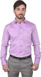 Success Men's Solid Formal Pink Shirt
