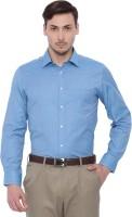 I voc Formal Shirts (Men's) - I-Voc Men's Solid Formal Blue Shirt