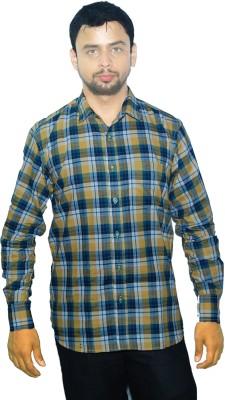 Alpha Shirt Men's Checkered Casual Multicolor Shirt